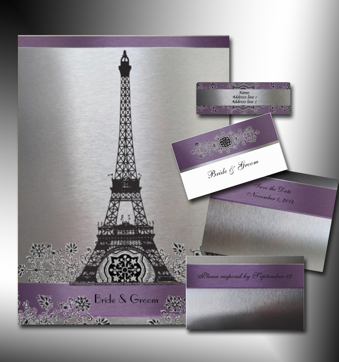 Eiffel Tower Invitation was great invitation layout